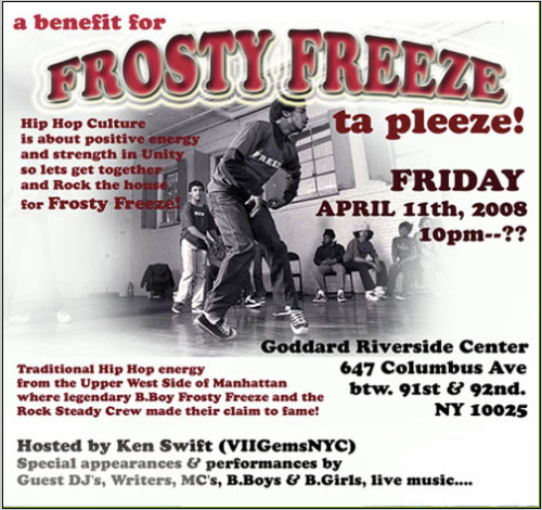 benefit for frosty freeze
